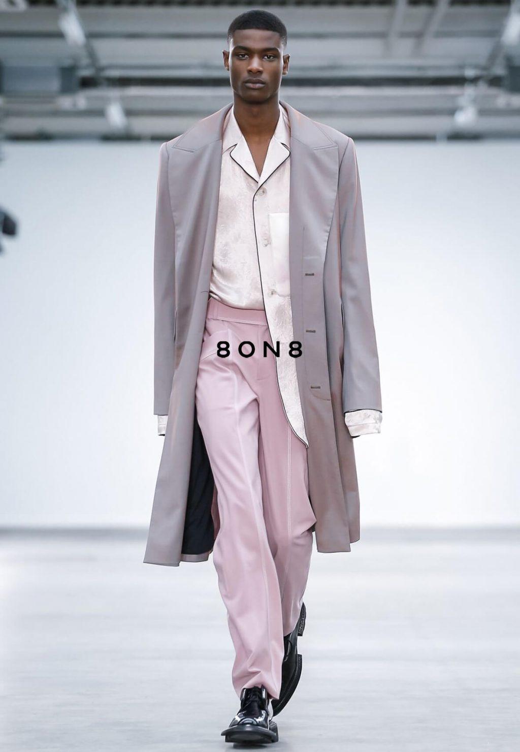 Rachide 8ON8 Menswear Spring Summer 2020 London