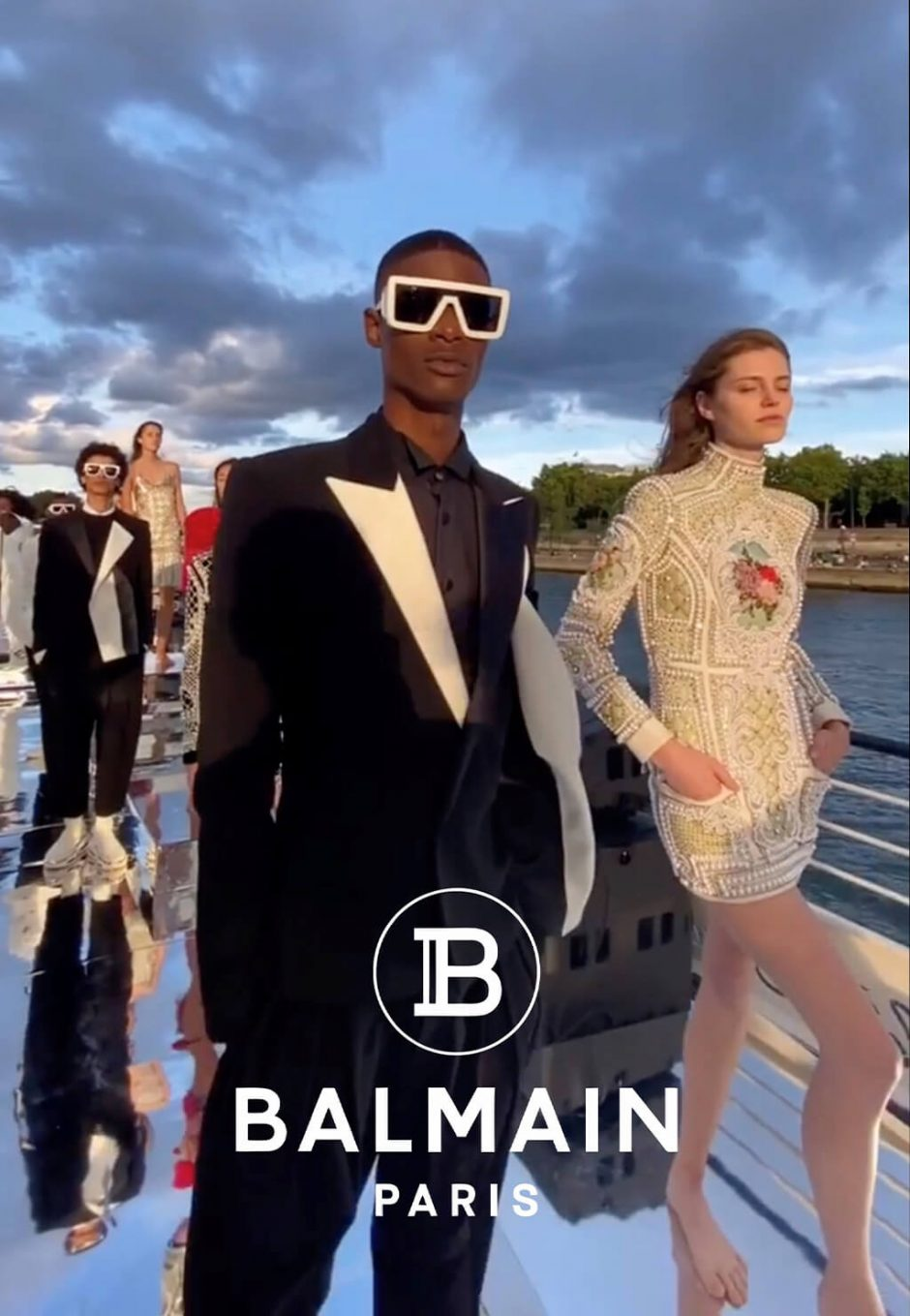 Rachide Balmain - Julho 20201