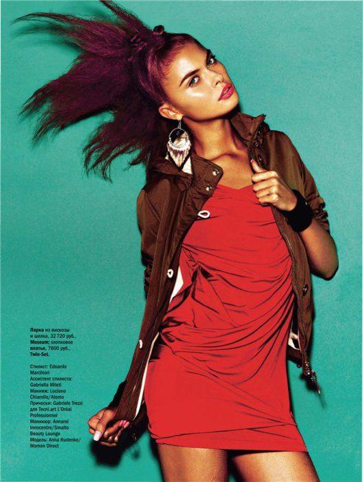 Model Women ANNA RUDENKO